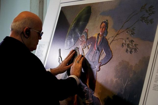 """""""Зонтик"""", Франсиско Хосе де Гойя-и-Лусьентес (Франсиско Гойа)"""