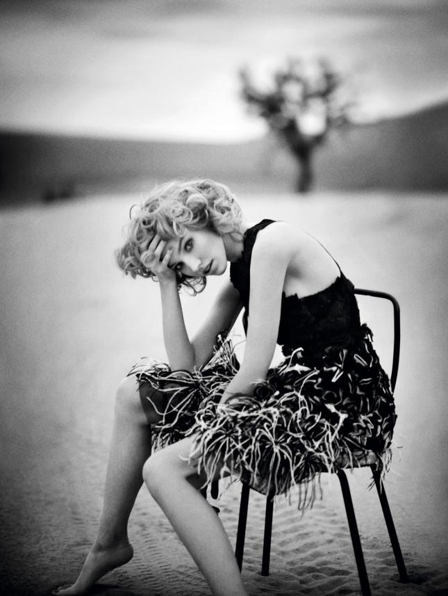 Саша Лусс для Vogue Китай, май 2015
