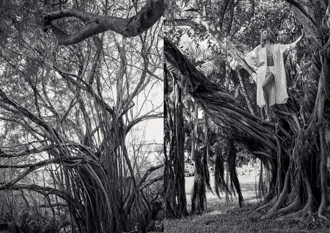 Карли Клосс в фотосессии для Porter, лето 2015