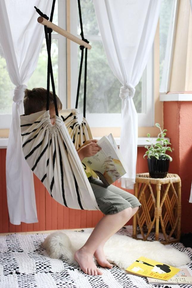 Шьем кресло гамак своими руками