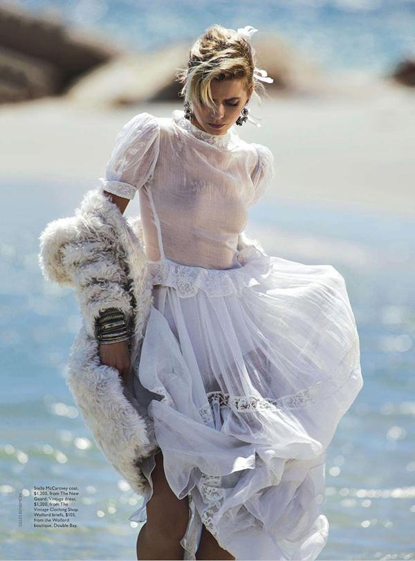 Эбби Ли Кершоу для Vogue Австралия, апрель 2015