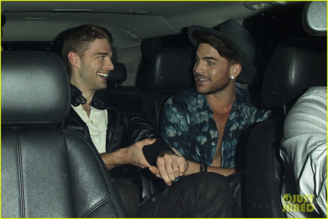 Adam Lambert enjoys a night out at The Nice Guy - Part 2