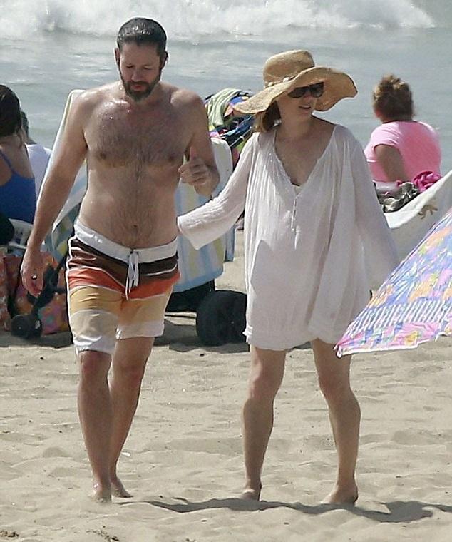 Эми Адамс с мужем Дарреном Ле Галло.