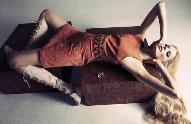 Алиса Эйхман в фотосессии для Vogue Италия, апрель 2015
