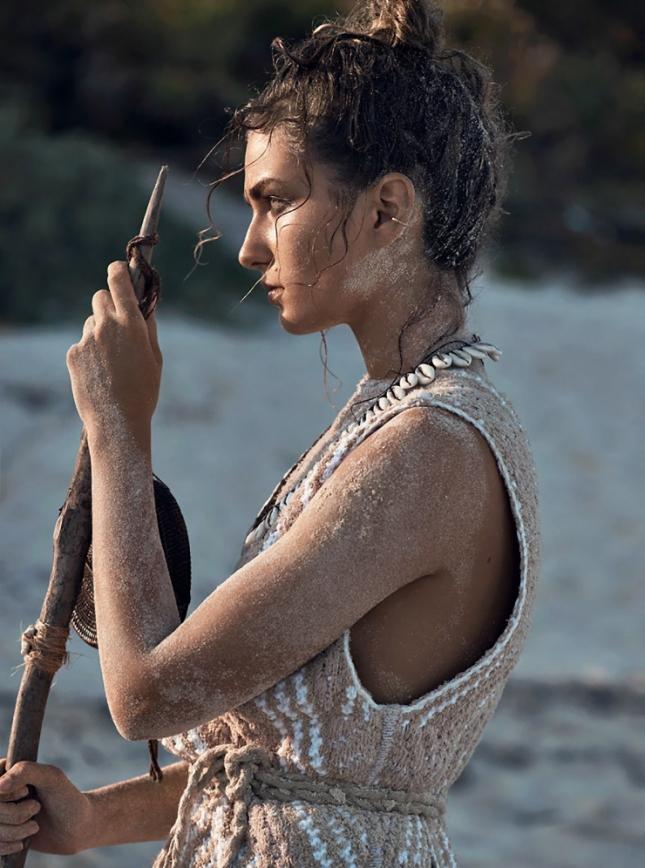 Андреа Дьякони в фотосессии для Vogue Париж, май 2015