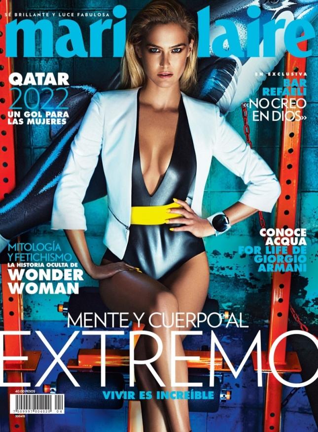 Бар Рафаэли на обложке Marie Claire Мексика, апрель 2015