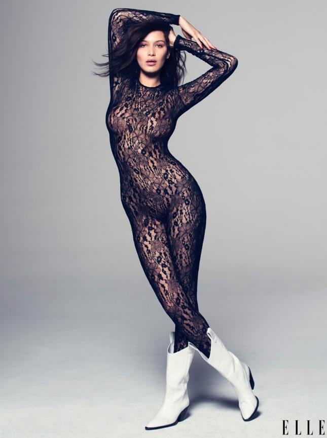 Белла Хадид в фотосессии для Elle US, май 2015