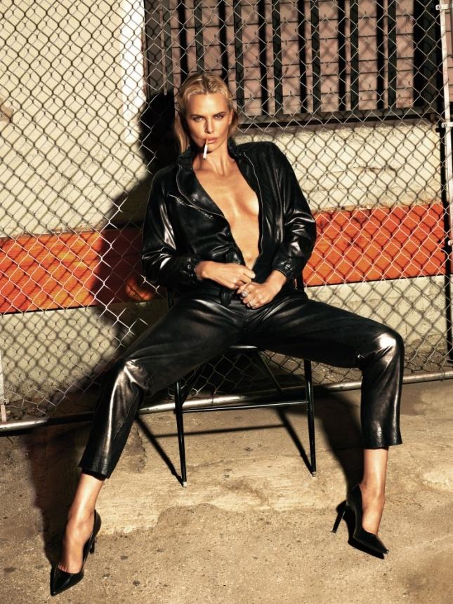 Шарлиз Терон в фотосессии для W Magazine