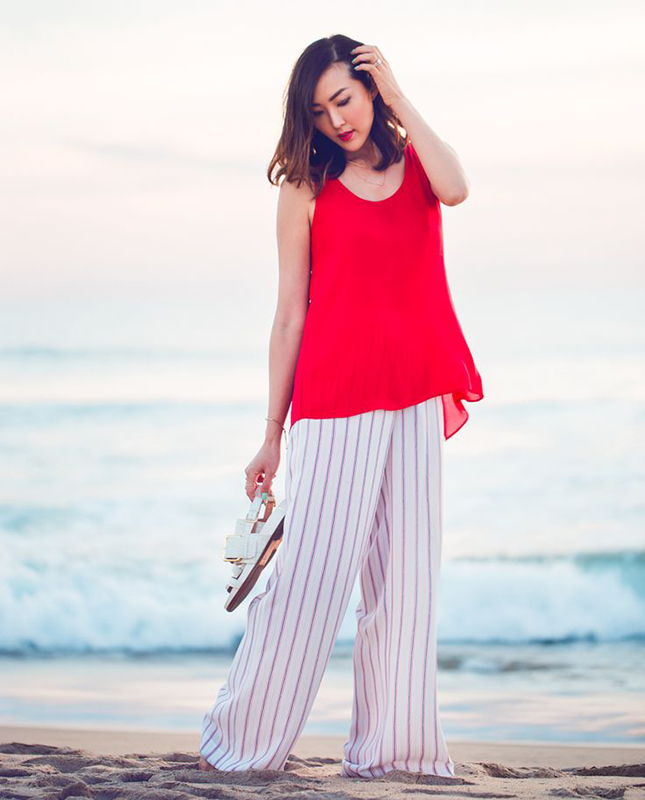 chriselle-striped-pants
