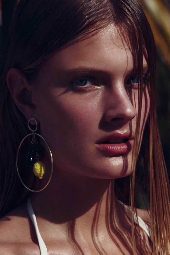 Констанс Яблонски для Harper's Bazaar Испания, май 2015
