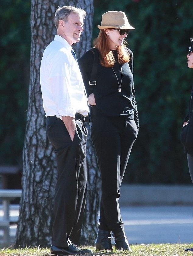 Марсия Кросс с мужем Томом Махони