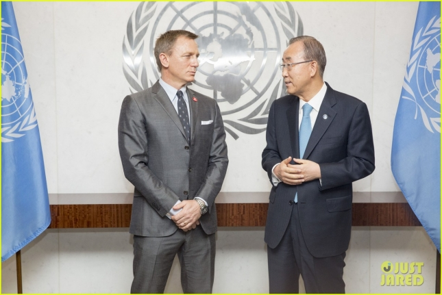 Daniel Craig Named UN Global Adovocate For Elimination Of Mines & Explosive Hazards