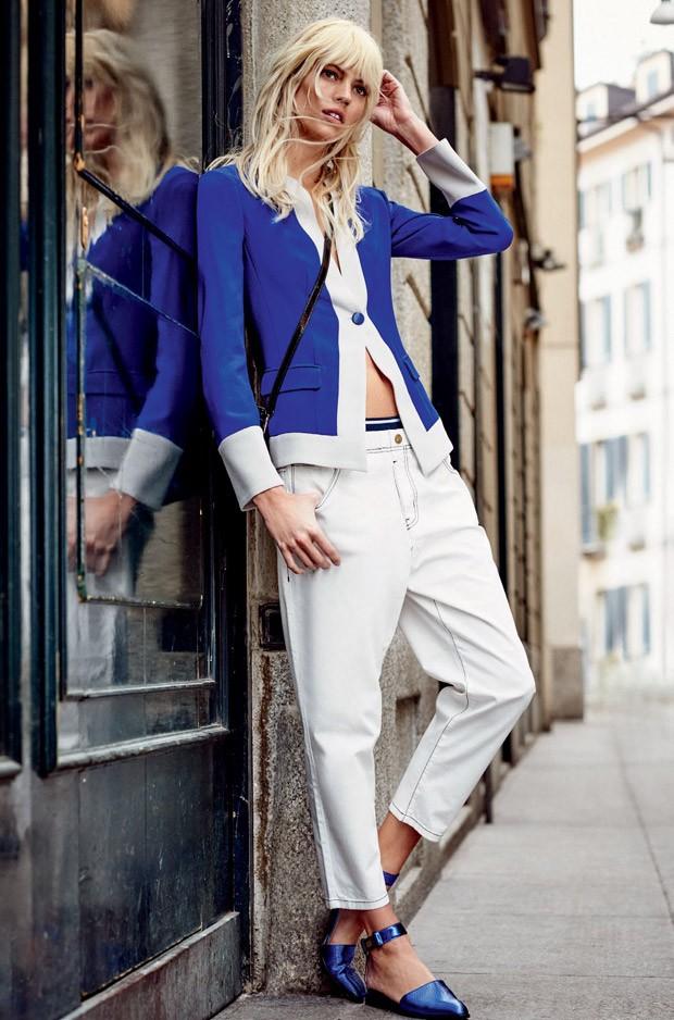 Девон Виндзор в фотосессии для Elle Бразилия