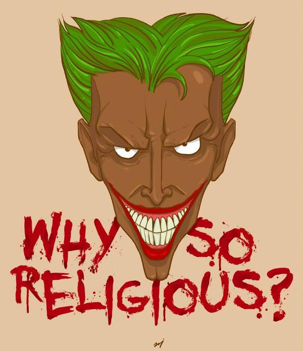 Джокер загорел и стал задавать странные вопросы!