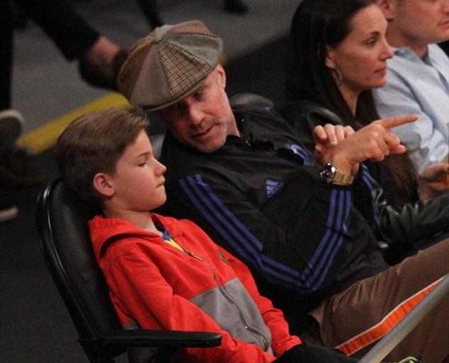 Уилл Феррелл с сыном