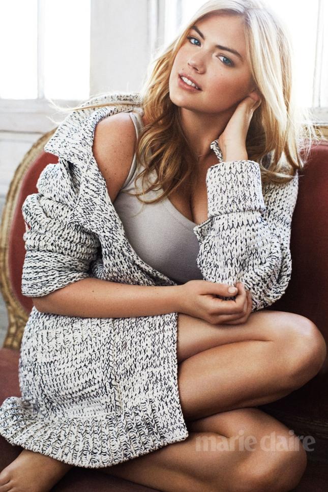 Кейт Аптон для Marie Claire US, май 2015