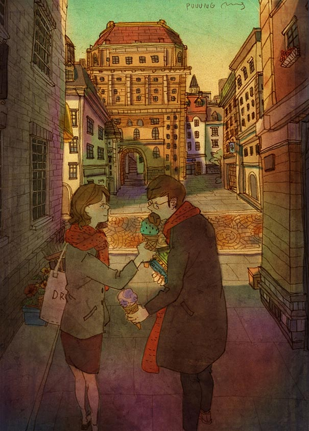 heartwarming-illustrations-art-sweet-love-couple-puuung-42