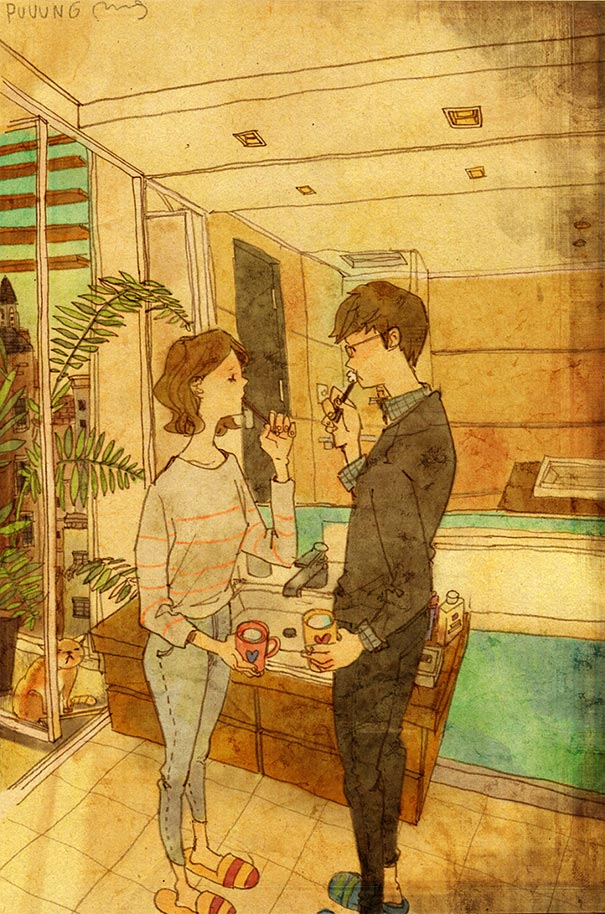 heartwarming-illustrations-art-sweet-love-couple-puuung-43