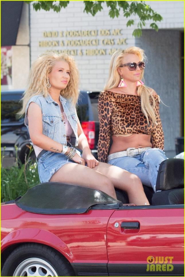 Бритни Спирс и Игги Азалия начали снимать клип на пока неизданный хит