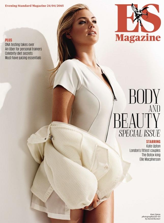 Кейт Аптон на обложке ES Magazine