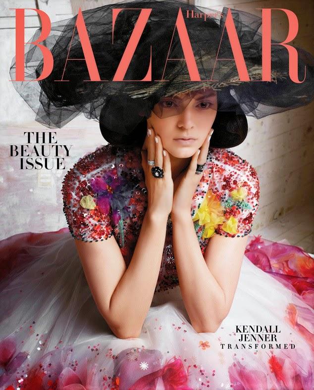 Кендалл Дженнер на обложке  майского Harper's Bazaar США