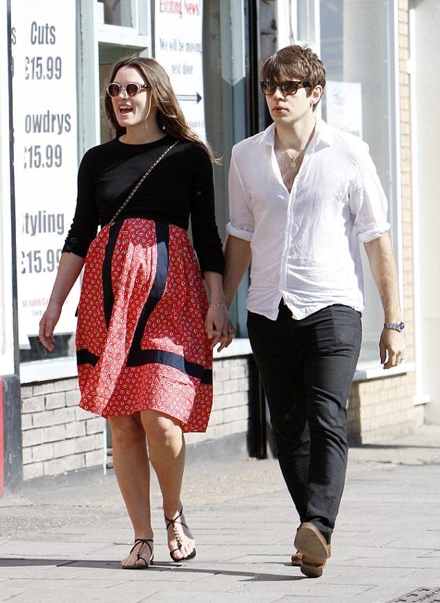 Кира Найтли с мужем Джеймсом Райтоном