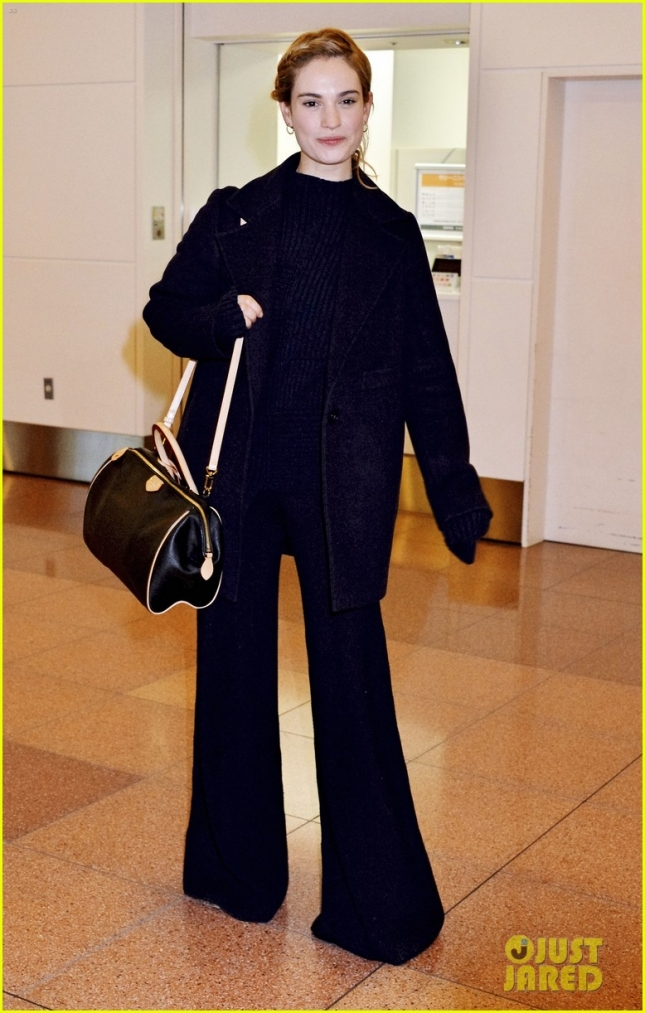 Celebrities arrive at Tokyo International Airport (Haneda Airport)