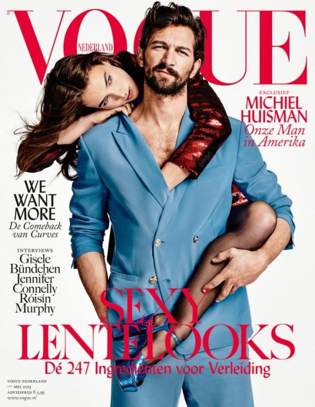 Криста Кобер и Мишель Хайсмэн на обложке Vogue Нидерланды