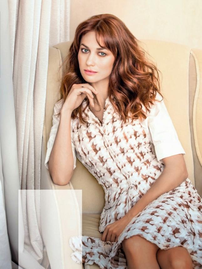 Ольга Куриленко для Glamour Россия