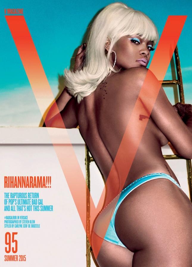 Рианна на обложке летнего выпуска V Magazine