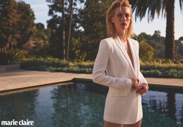 Дженьюари Джонс для Marie Claire UK, май 2015