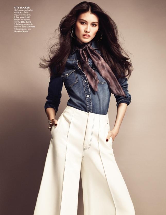 Суи Хэ для Vogue Таиланд, май 2015