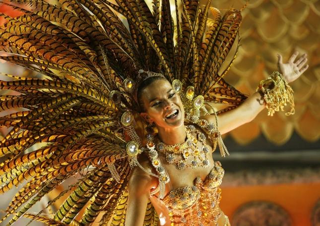 Танцовщица самбо в Бразилии, Рио-де-Жанейро