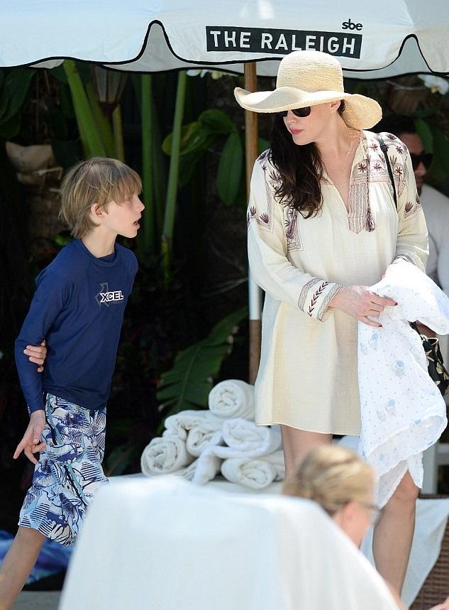 Лив Тайлер с сыном