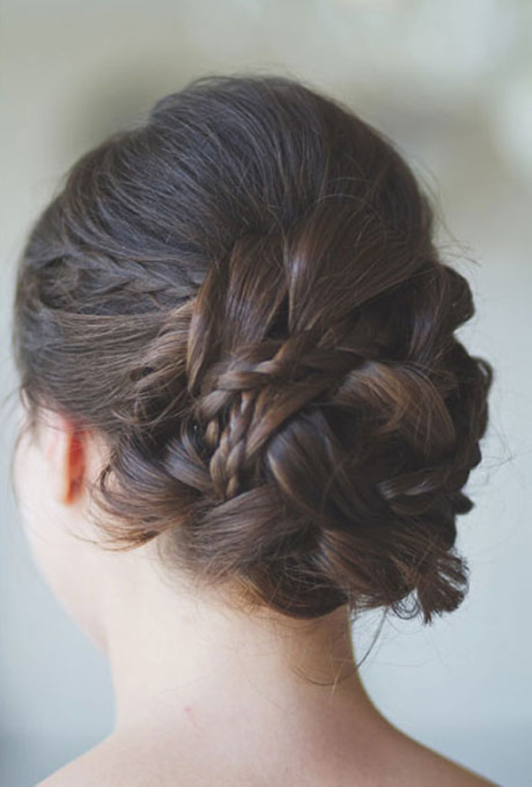 wedding-hairstyles-for-straight-hair-unique-bun