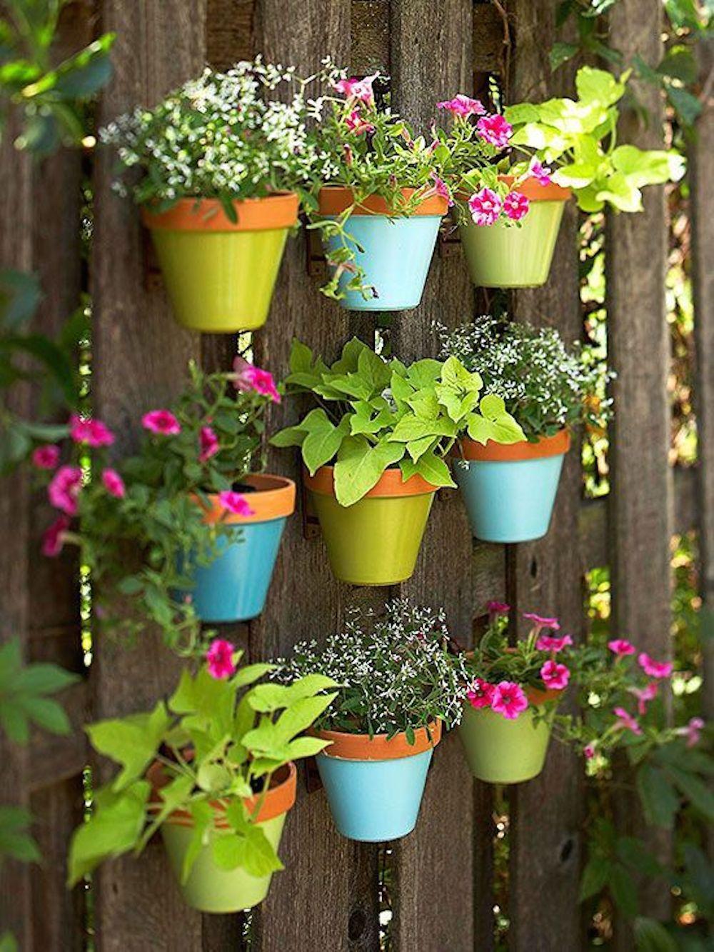 Подвесные сады своими руками