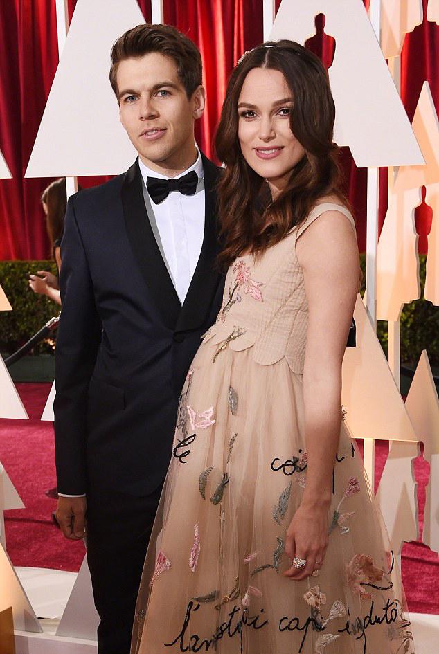 """Кира Найтли и Джеймс Райтон на церемонии """"Оскар""""  2015"""