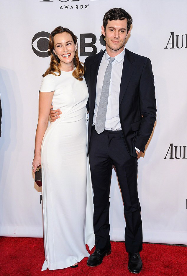 Лейтон Мистер и Адам Броди на 68 церемонии tony awards