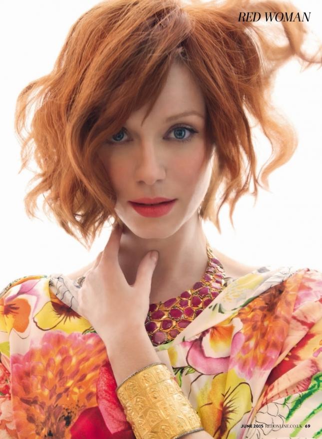 Кристина Хендрикс для Red magazine, июнь 2015