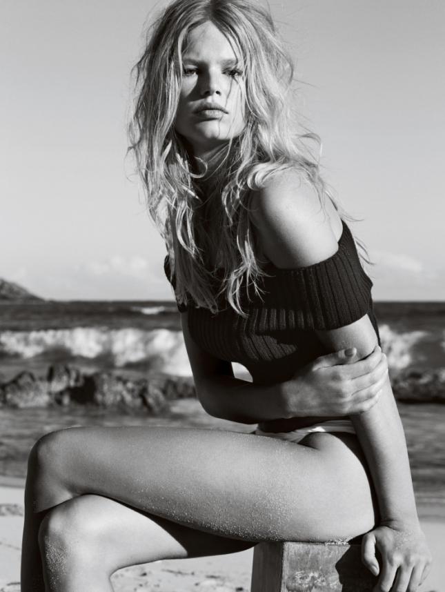 Анна Эверс для Vogue UK, июнь 2015