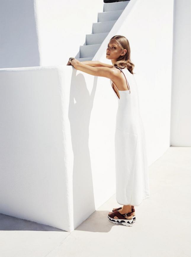 Анна Селезнева для Harper's Bazaar Германия, июнь 2015