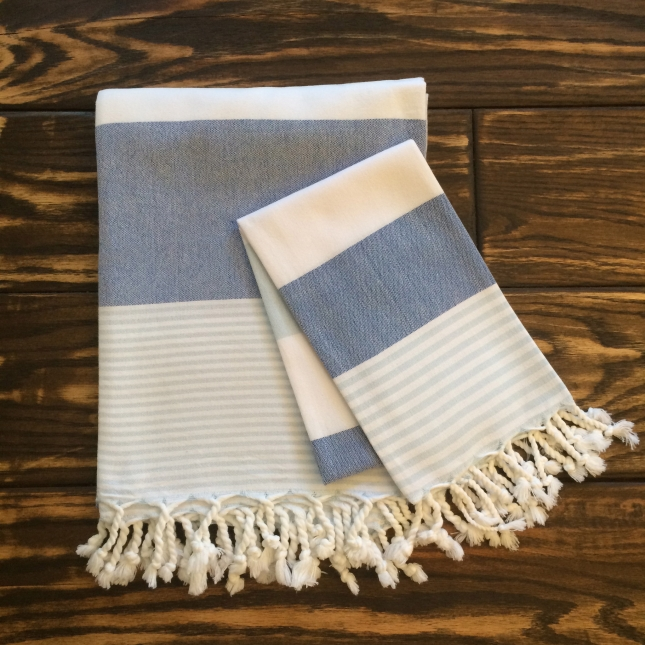 Blue_Marine_Turkish_Towel_Kids_Towel