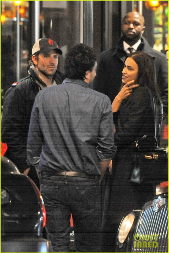 *EXCLUSIVE* Bradley Cooper and Irina Shayk  double date in London **USA ONLY** **MUST CALL FOR PRICING**