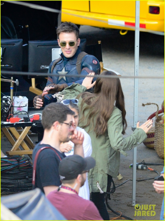 Film Set: 'Captain America: Civil War'