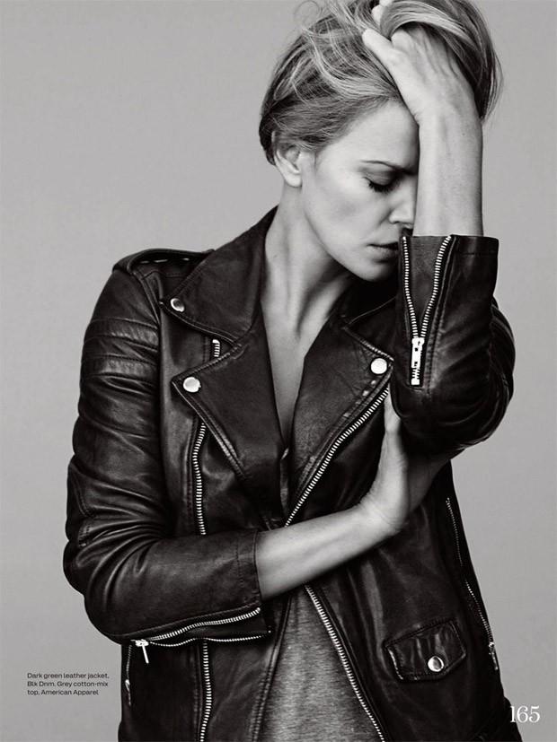 Шарлиз Терон для Elle UK, июнь 2015