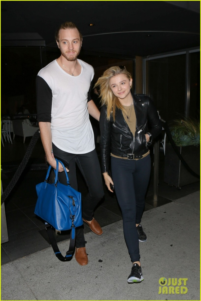 Chloe Grace Moretz was in the mood for sushi tonight