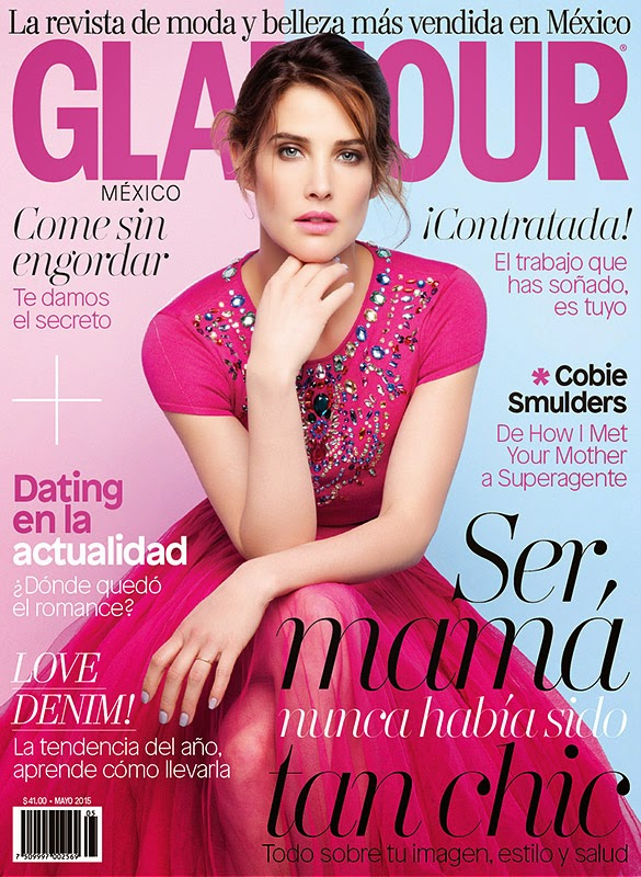 Коби Смолдерс на обложке  Glamour Мексика, май 2015