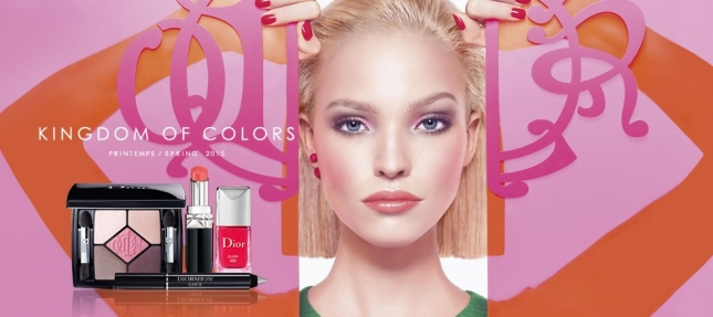 Dior-Kingdom-Of-Colors-Makeup-Collection-for-Spring-2015-promo-woth-Sasha-Luss