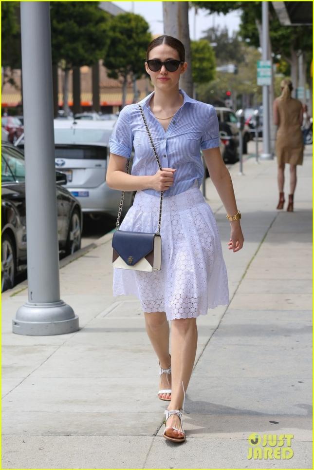 Эмми Россум в Лос-Анджелесе