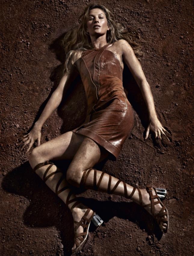 Жизель Бундхен в фотосессии для Vogue Бразилия, май 2015, часть 2